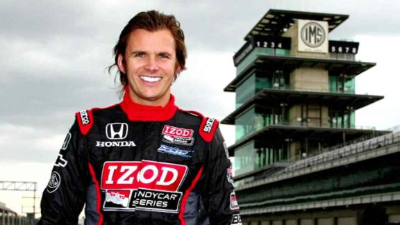 Dan Wheldon at the Indianapolis Motor Speedway