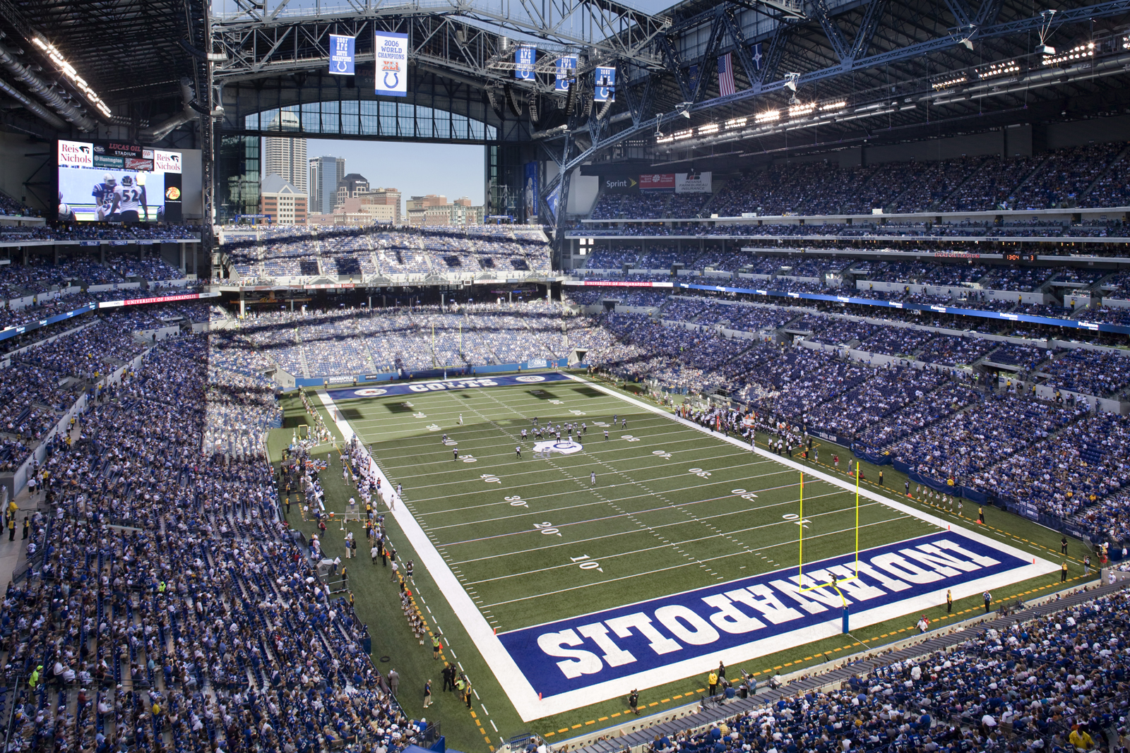 indianapolis colts marketing The indianapolis colts have made some big plays off the field by strengthening its front office team bill benner talks with new vice president of communications.