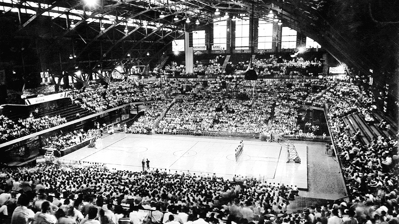 Butler 'Hinkle' Fieldhouse in 1928