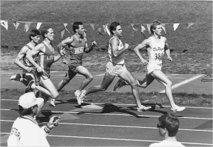 Second from the right--Matt White attended Butler University in the mid to late 90's on a track and cross country scholarship