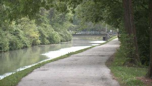 Canal on the Northside of Indianapolis