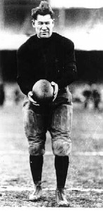 Olympian and Canton Bulldogs player Jim Thorpe was named president of the APFA