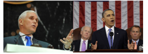 Governor Pence and President Obama recently expressed their economic optimism.