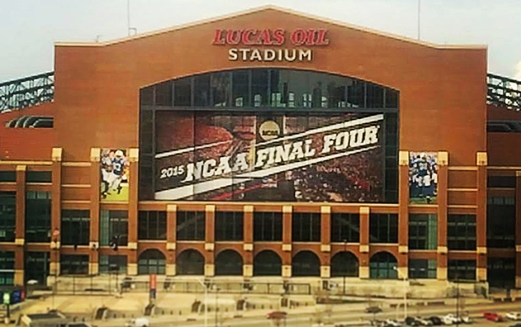 Lucas Oil Stadium will play host to the 2015 Men's Final Four