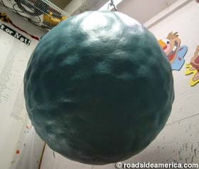 Worlds largest ball of paint