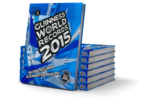 guinness book stack 2015