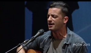 Incite arranged for O.A.R. front man Marc Roberge to speak and perform at MCON.