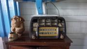 Hotel bedside radio in Cuba's Topas de Collantes national park, January 2016.