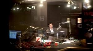 Guy Raz, host of TED Radio Hour, in the studio.