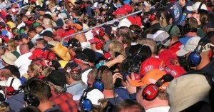 Crowds at IMS