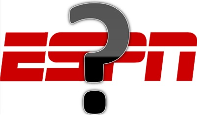 ESPN Logo with Question mark